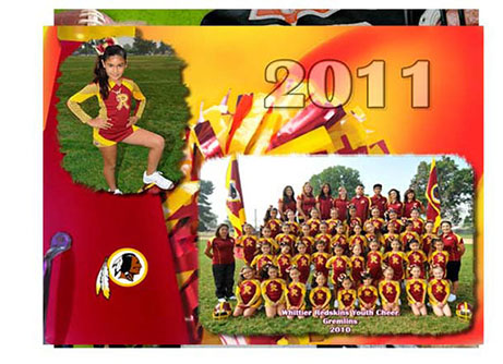 youth sports metalic photo prints
